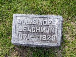 Ollie <i>Hope</i> Leachman