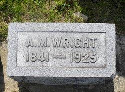 A. M. Wright