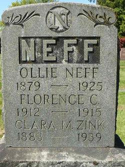 Clara M <i>Stiefel</i> Neff