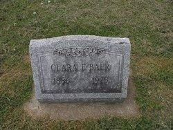 Clara E Baer