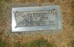 Janet W Escott