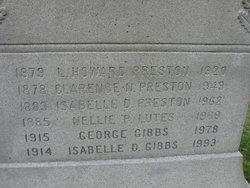 Isabelle Doris <i>Preston</i> Gibbs