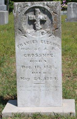 Frances Eleanor <i>Presson</i> Crossnoe