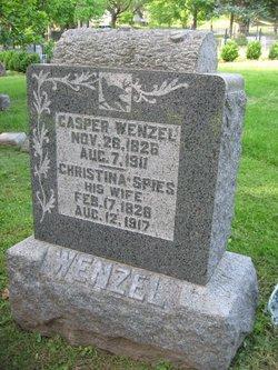 Christina <i>Spies</i> Wenzel
