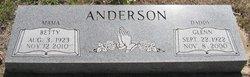 Betty Lou <i>Dowdy</i> Anderson