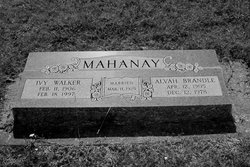 Alvah Brandle Mahanay, Sr