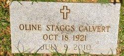 Oline <i>Staggs</i> Calvert
