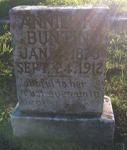 Annie <i>Rawls</i> Buntin