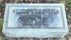 Mildred <i>Wier</i> Barnes