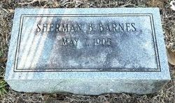 Sherman B Barnes
