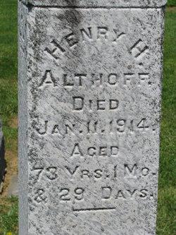 Henry Harrison Althoff