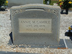 Annie Matt <i>Smith</i> Gamble