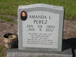 Amanda L Perez