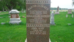 Mahalah Ann <i>Burrier</i> Zeimmer