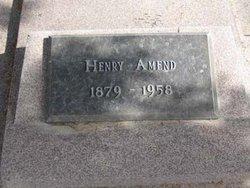 Heinrich Frederick Henry Amend