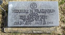 Herbert N Bradford