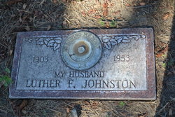 Luther F Johnston