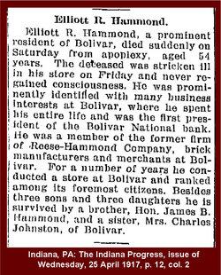 Elliott Robinson Hammond