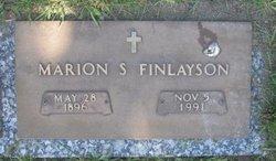 Marion Snow <i>Cornelius</i> Finlayson
