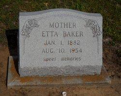 Etta <i>Appling</i> Baker