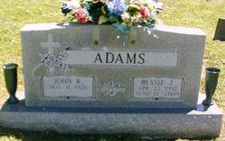 Bessie Jean <i>Sprinkle</i> Adams