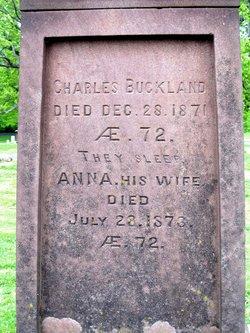 Ann <i>Thomas</i> Buckland