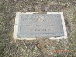 Mary <i>Fore</i> Ashley