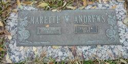 Marette W Andrews