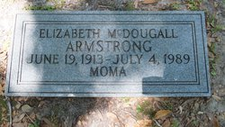 Elizabeth <i>McDougall</i> Armstrong