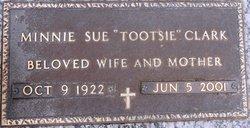 Minnie Sue Elizabeth Tootsie <i>McCraw</i> Clark
