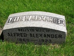 Lillie Wilson <i>Earlson</i> Alexander