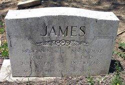 Maria A. <i>Duke</i> James