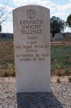 Sgt Kenneth Dwight Billings