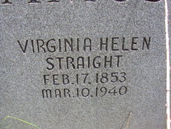 Virginia Helen <i>Straight</i> Amos