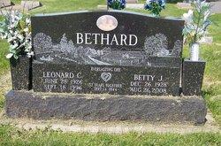 Betty J <i>Bolton</i> Bethard