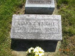 Clara Jennie <i>Riley</i> Wright