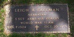 Sgt Leigh R Freeman
