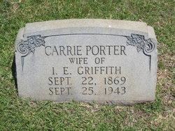 Carrie <i>Porter</i> Griffith