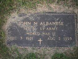 John N Albanese