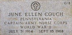 Capt June Ellen Couch