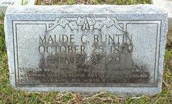 Maude <i>Critz</i> Buntin