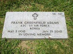 Frank Greenfield Adams