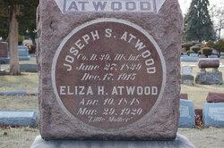 Eliza H <i>Smith</i> Atwood