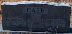 Clara E <i>Curtis</i> Cash