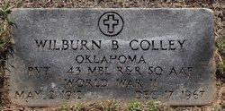 Pvt Wilburn B. Colley
