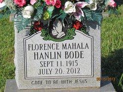 Florence Mahala <i>Hanlin</i> Bode