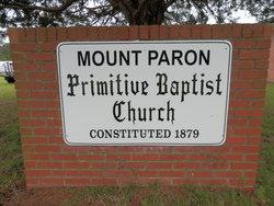 Mount Paron Primitive Baptist Church Cemetery