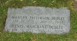 Marilyn Pat <i>Patterson</i> Dudley