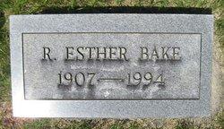 Rachel Esther <i>Hockersmith</i> Bake