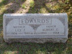 Lily F <i>Webb</i> Edwards